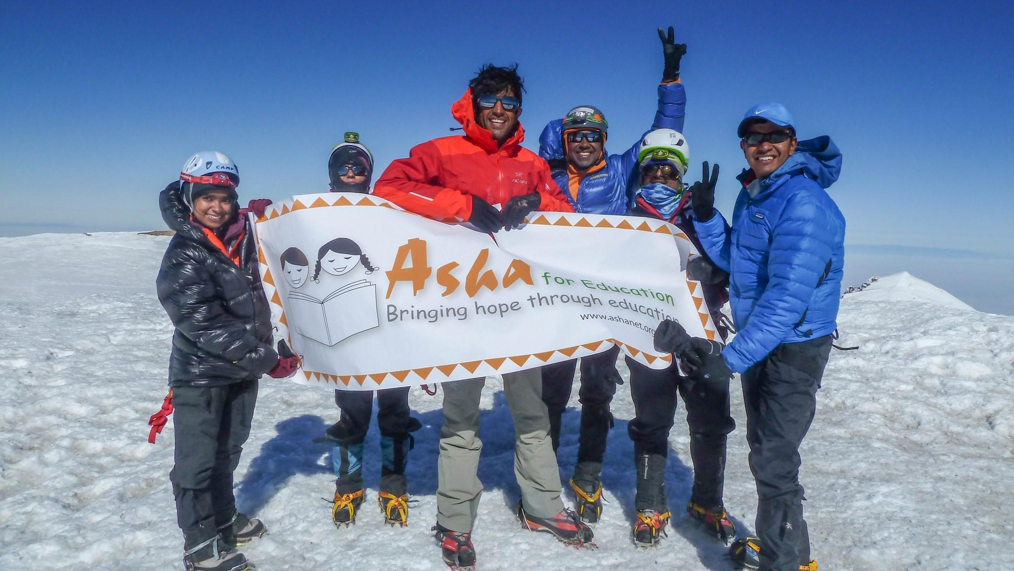 Team Asha Climbing Program
